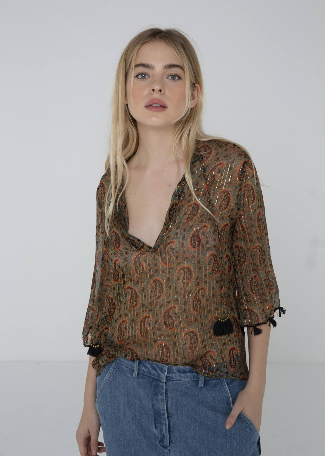 Blouse Madness Charlie Joe