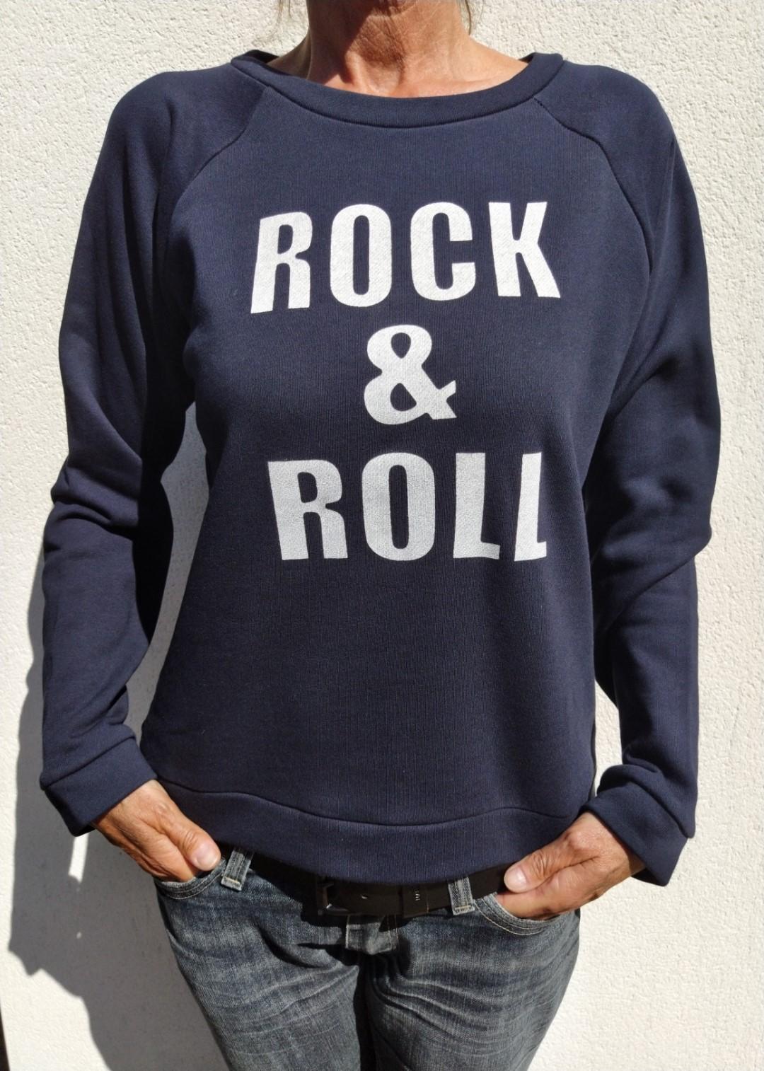 Sweat marine N°55 Rock and Roll