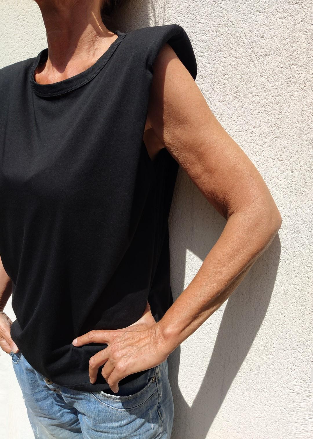 Tee shirt noir Passion N°55